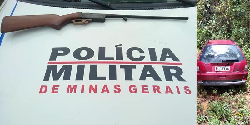 PM mineira prende quadrilha e recupera veículo furtado em Espírito Santo do Pinhal