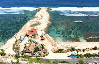 All about bali Melasti Beach
