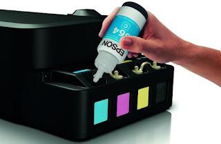 Pengisian Tinta Printer Epson L120