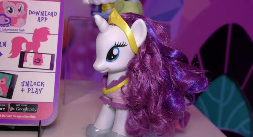 Rarity Fashion Style Brushable at NY Toy Fair 2015