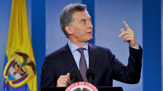 Macri en caída libre: Aumenta 18 % su desaprobación en Argentina y llega a 43%