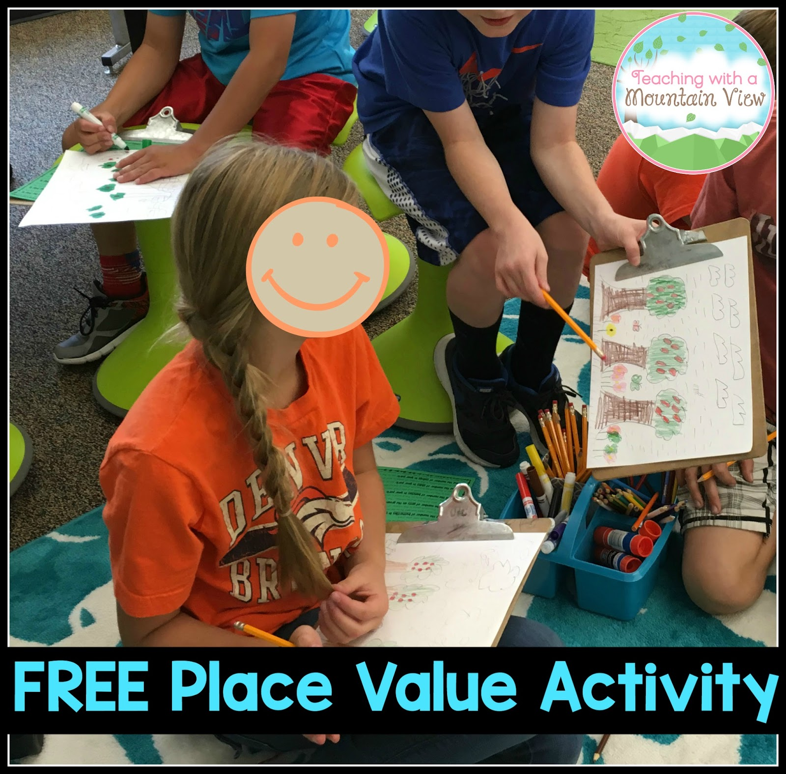 Teaching with a mountain view teaching place value nvjuhfo Choice Image