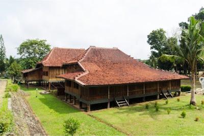 Desain Asli Rumah Adat Sumatera Selatan