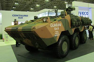 Os veículos Guarani, LMV e MUV 4x4