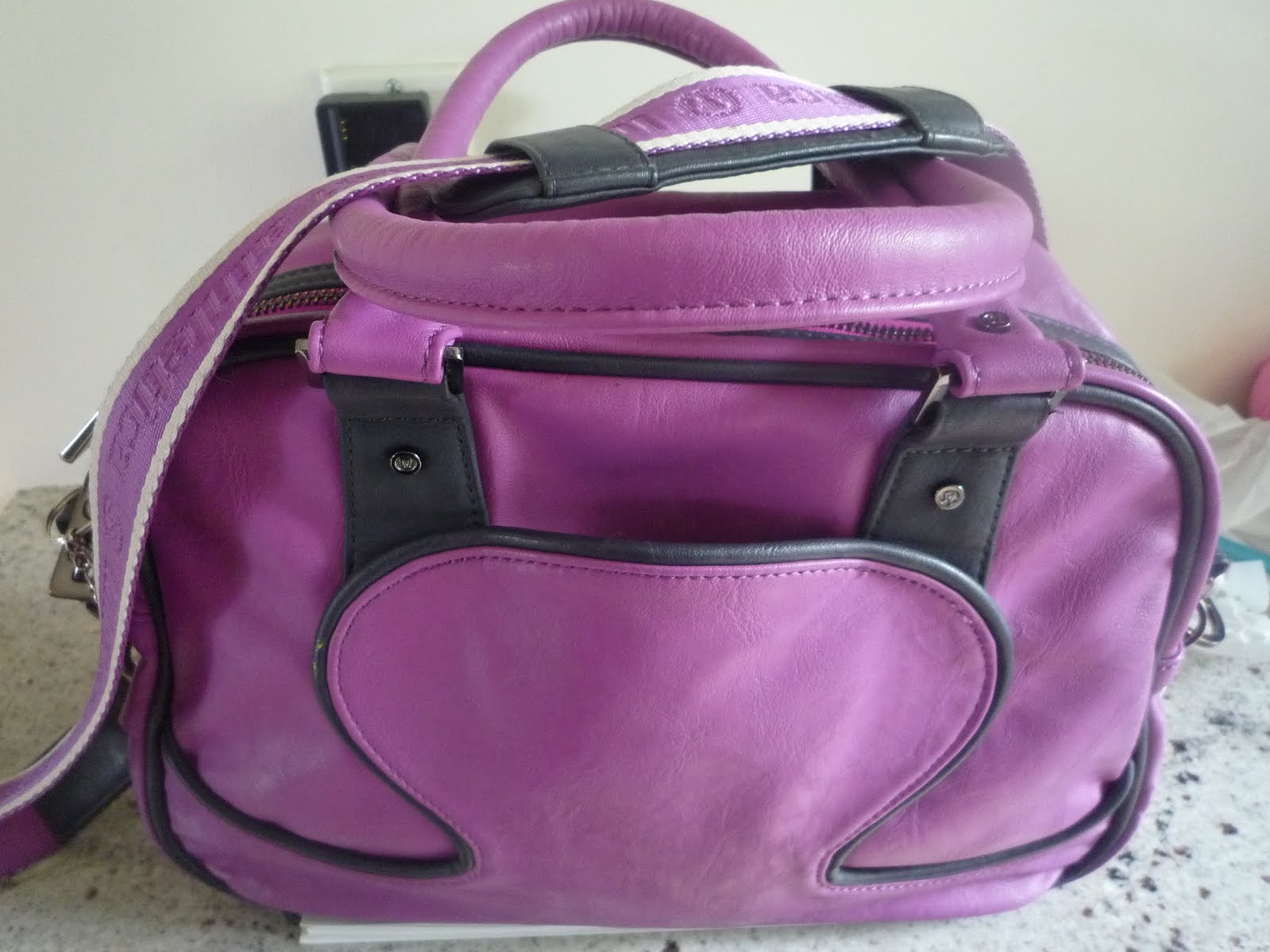 4dcac448f9 Purple Lululemon Gym Bag