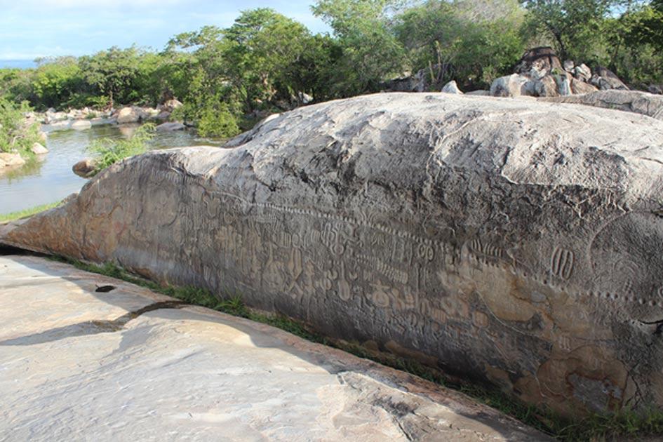 Piedra de Ingá, Paraíba, Brasil.