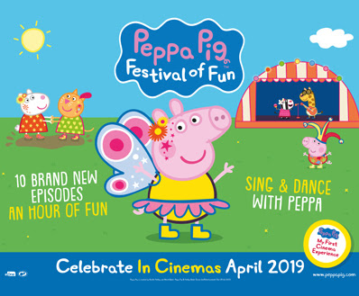 Nickalive Peppa Pig And Friends Return To The Big Screen To