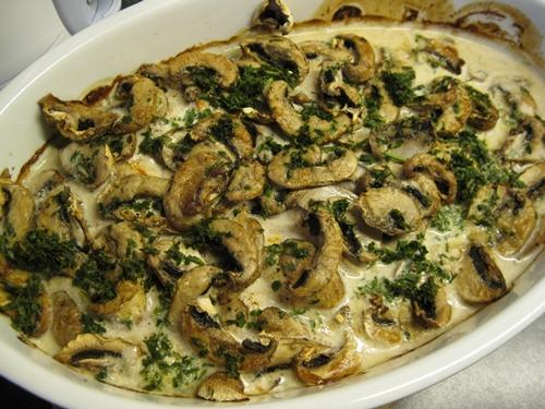 hähnchenbrustfilet überbacken champignons