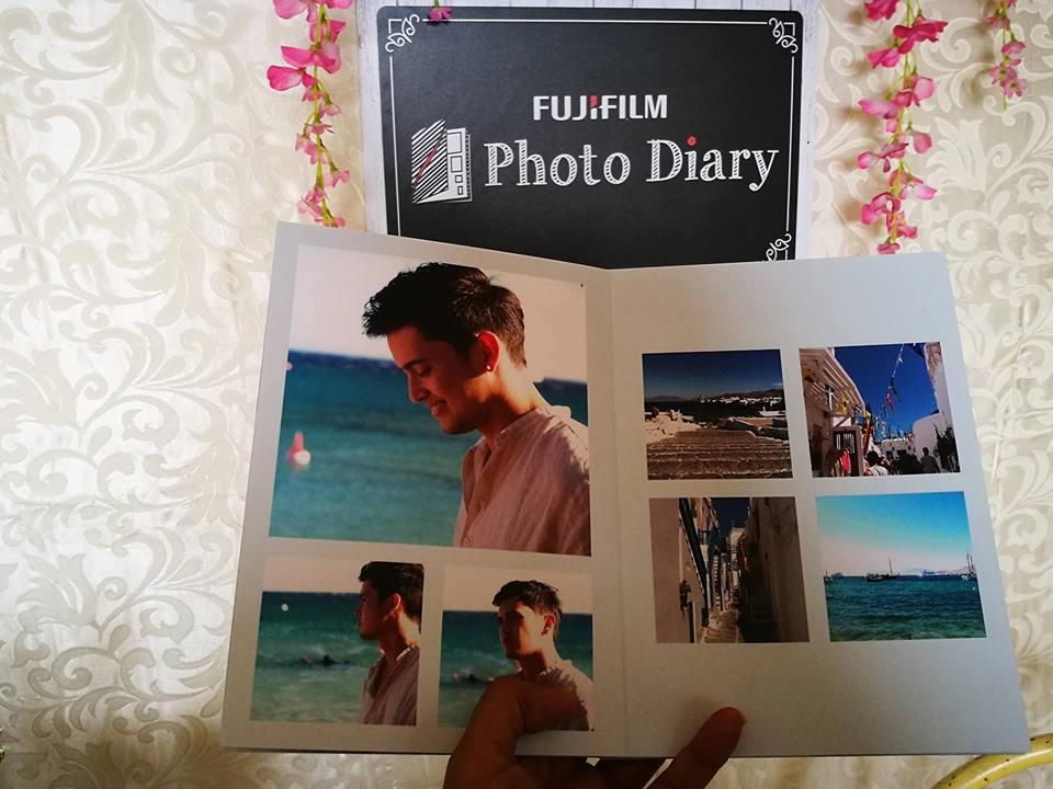 Lemon GreenTea: Reliving memories through FUJIFILM Photo Diary