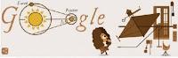 Velocità della luce: il doodle di Google per il 340esimo anniversario