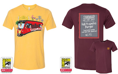 San Diego Comic-Con 2018 Exclusive Bob's Burgers T-Shirt Collection by Toddland