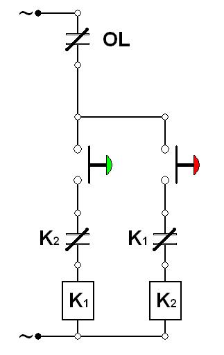 ilmu listrik: Wiring Diagram Motor Bolak Balik (Forward
