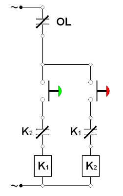 Wiring Diagram Motor Bolak Balik (Forward Reverse Three