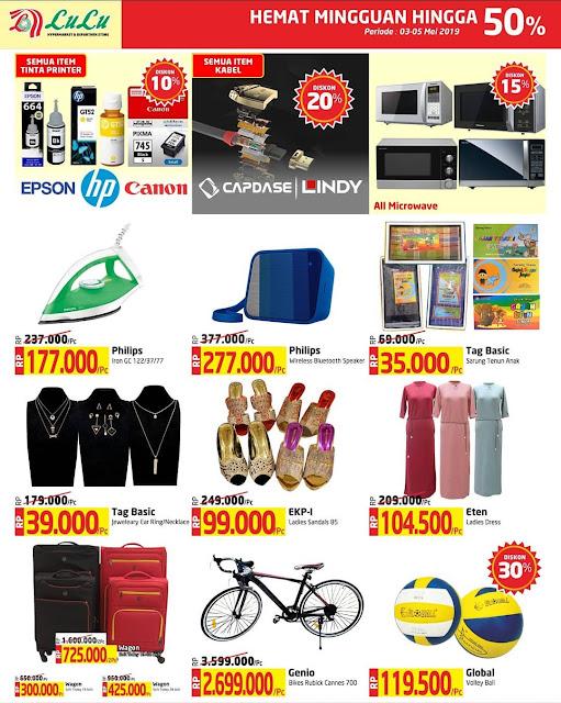 #LuLuStore - #Promo #Katalog Weekend Periode 03 - 05 Mei 2019