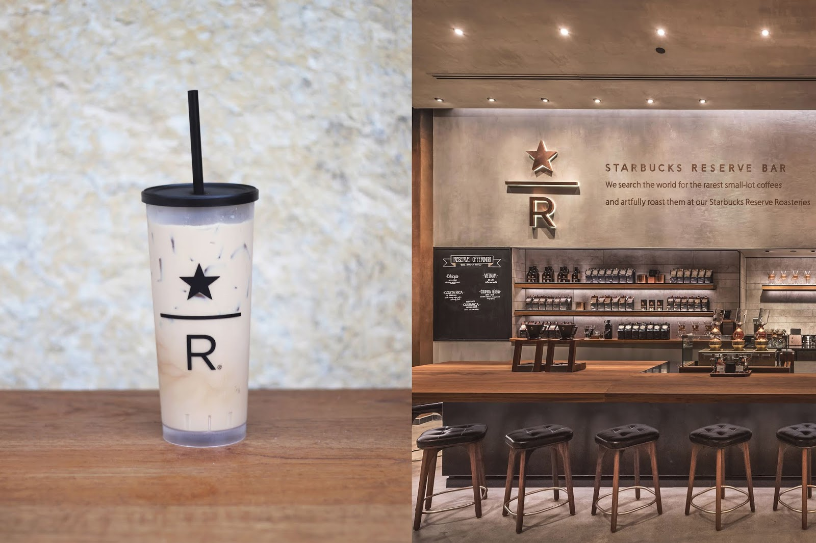 Starbucks Reserve Store Austin, Iced Coffee, Cozy Coffee Shop, Coffee Shops Vibe