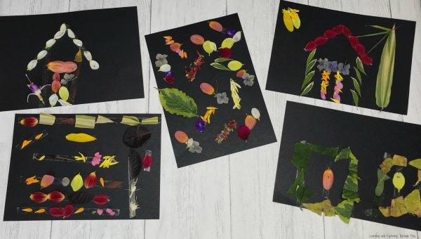 Sticky Tape Nature Art - Forest School Ideas