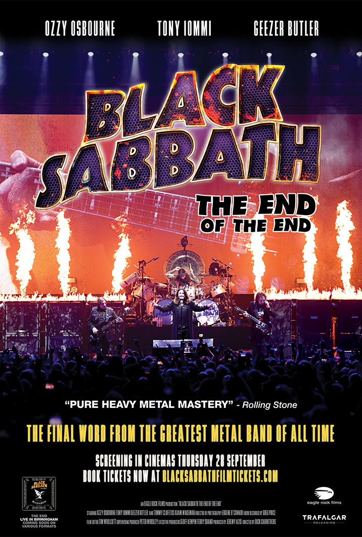 Black Sabbath the End of the End (2017) Live in Birmingham