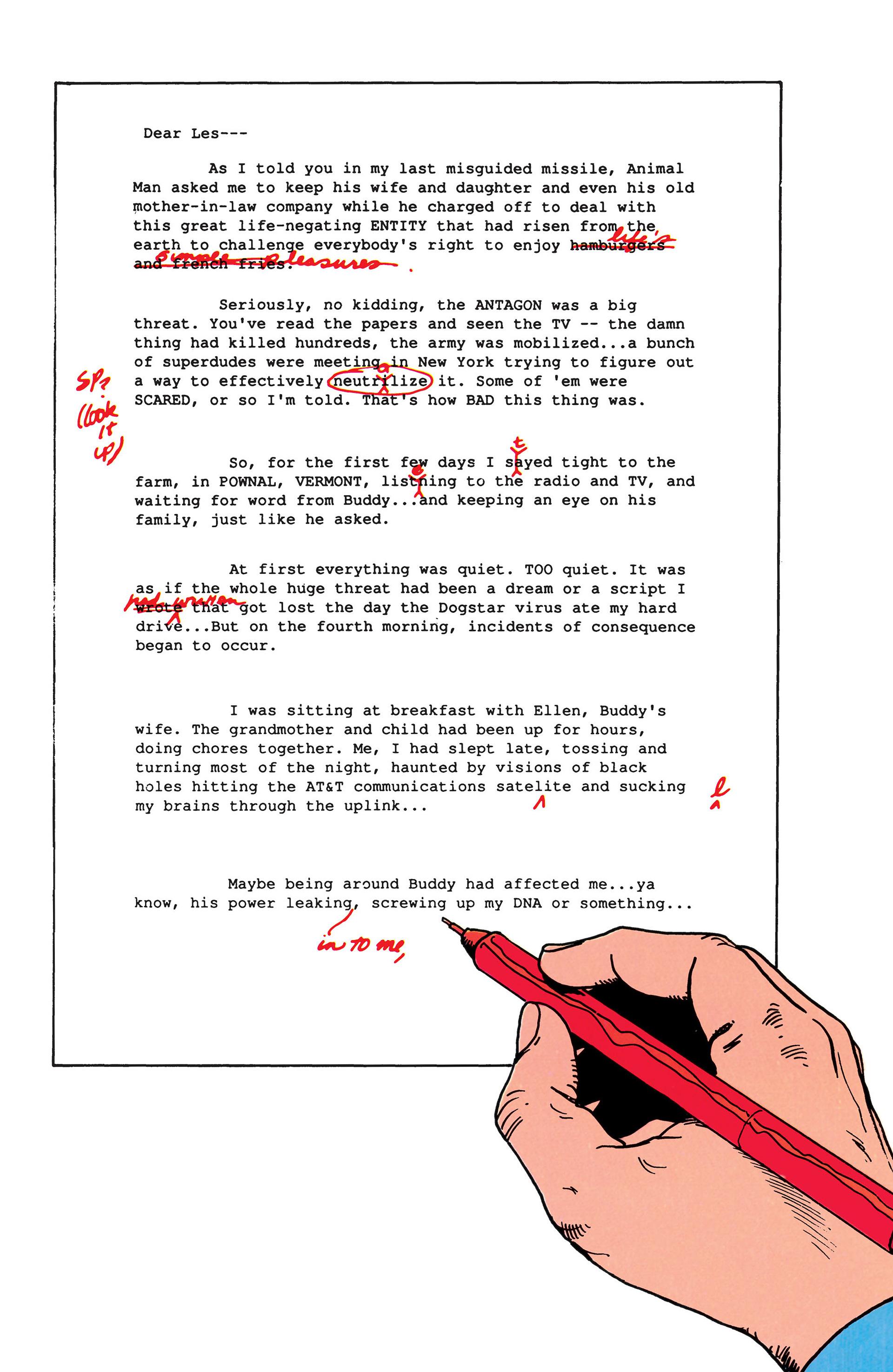 Read online Animal Man (1988) comic -  Issue #50 - 2