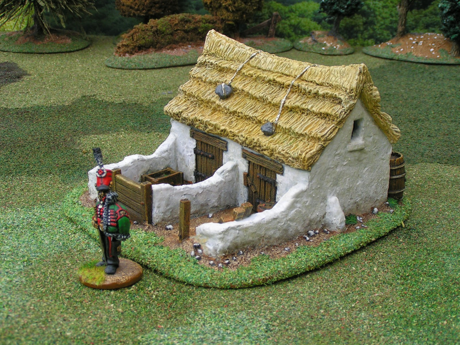 Dampf's modelling page: A Messy Little Pigsty from Building Wargame