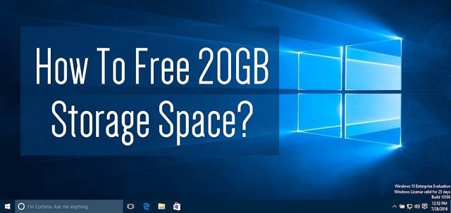 Cara membersihkan Drive hingga 20 GB setelah update Windows
