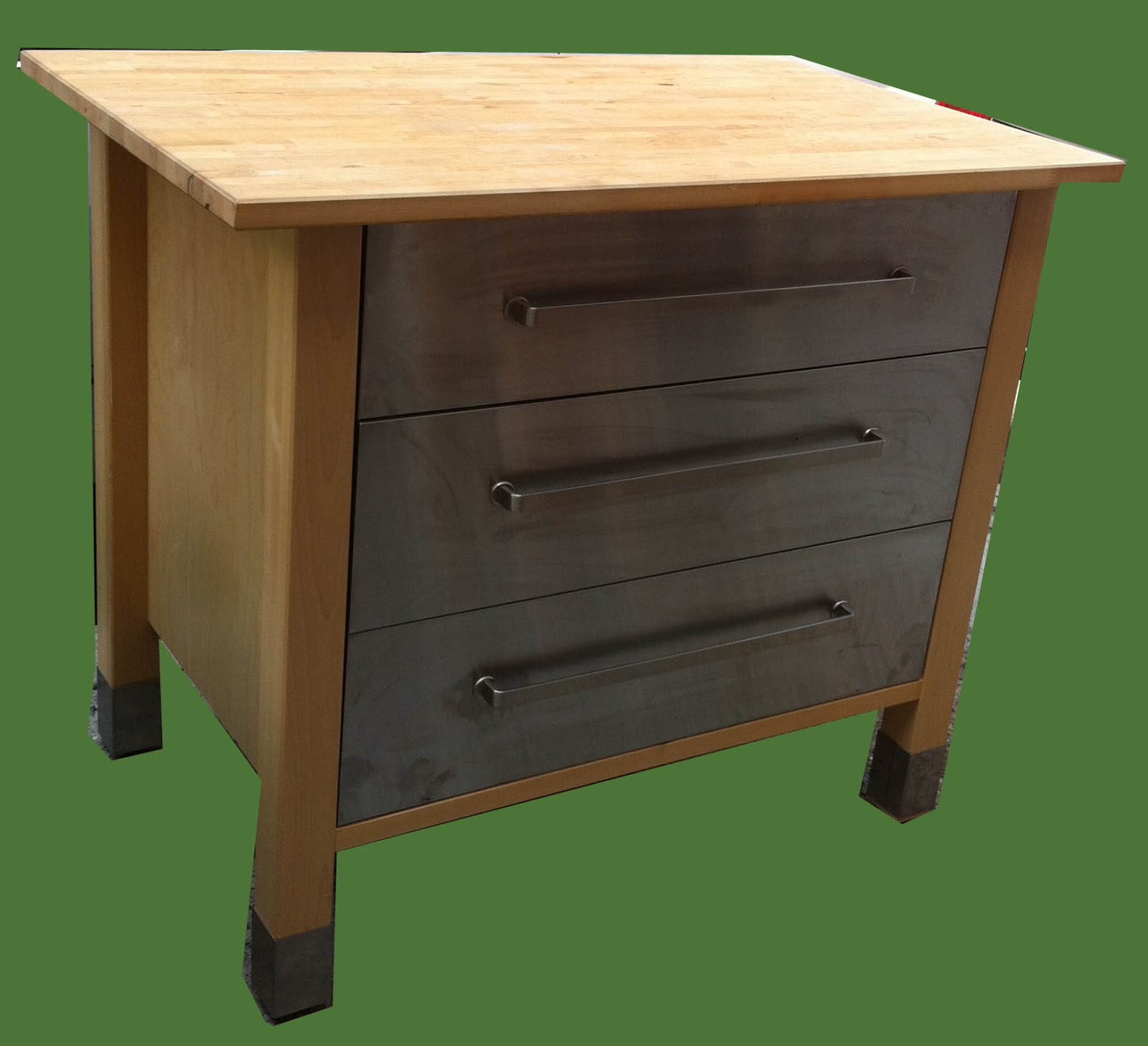 Uhuru furniture collectibles small butcher block - Small butcher block island ...