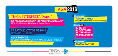 "Tour ""TAGA interpreta drupa"" - FIRENZE"