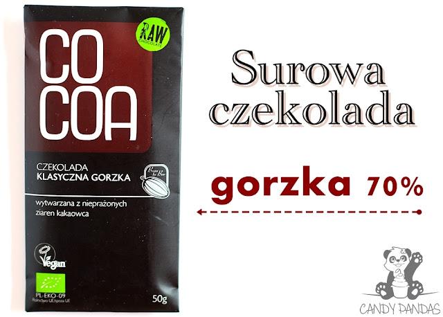 Surowa czekolada klasyczna gorzka – SuroVital (Cocoa)