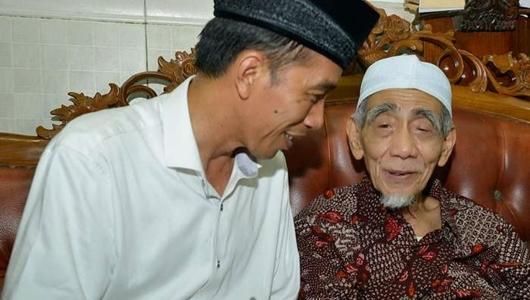 TKN Sebut Mbah Moen Dukung Jokowi Karena Gus Yasin Jadi Wagub Dicalonkan PDIP