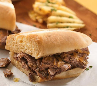 Easy Slow Cooker French Dip Recipe