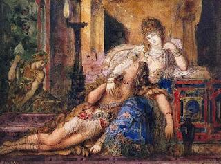 Dalila e Sansão - Gustave Moreau