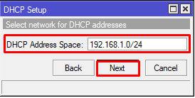 Cara seting DHCP Server MikroTik