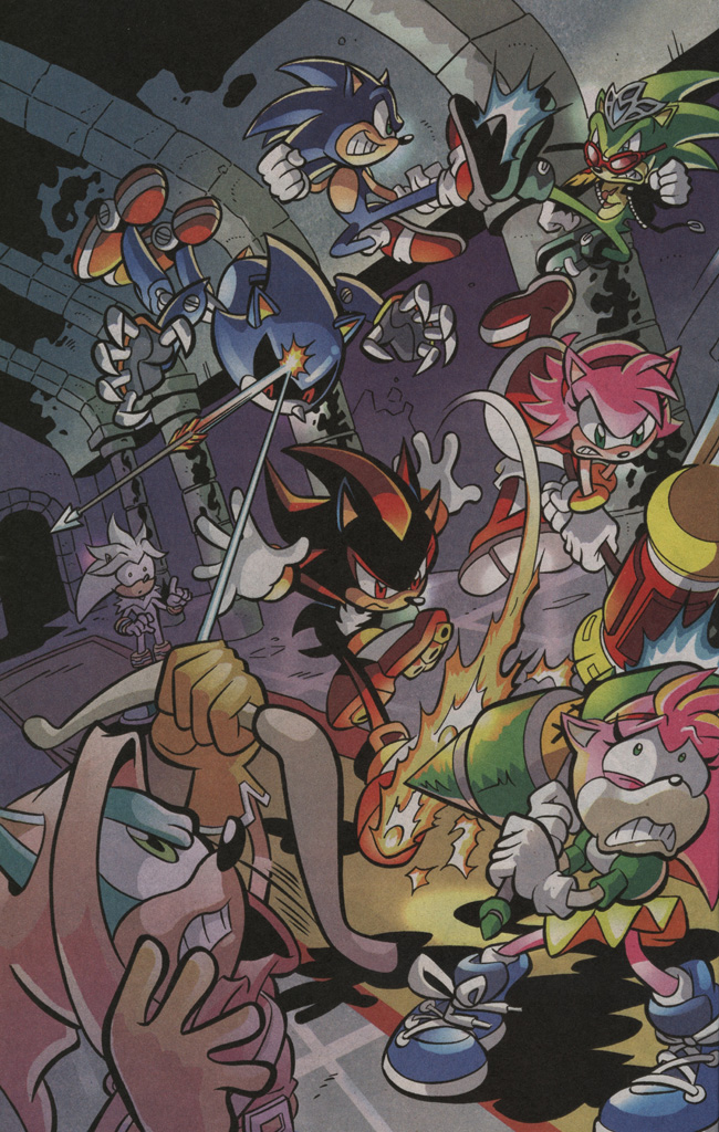 Read online Sonic The Hedgehog comic -  Issue #195 - 16