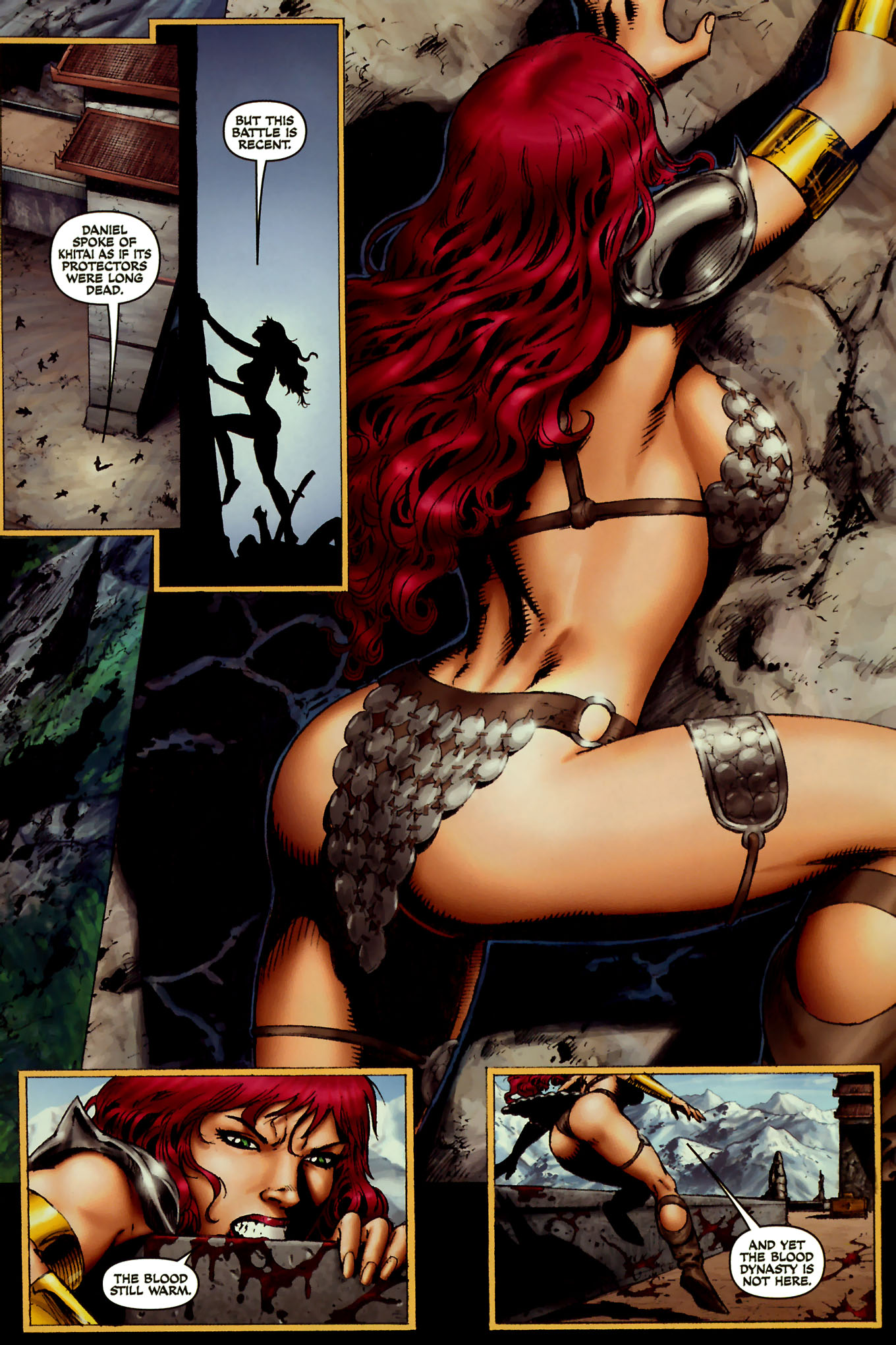 Read online Red Sonja (2005) comic -  Issue #45 - 15