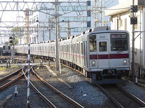 【東武車が52K代走!】青い快速急行 元町・中華街行き