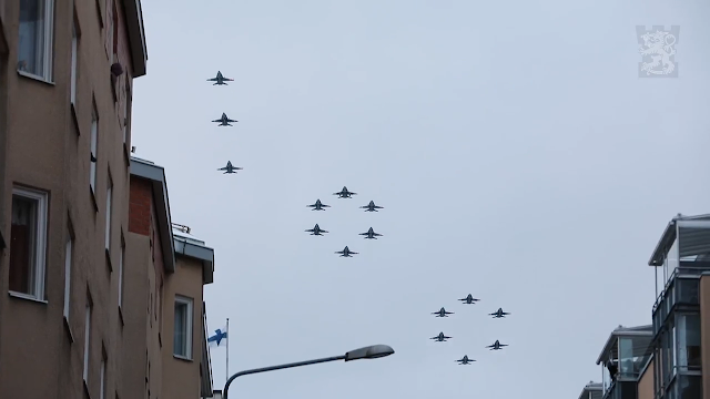 air force 100 formation finlandia