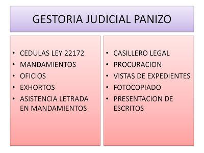 Gestoría Judicial
