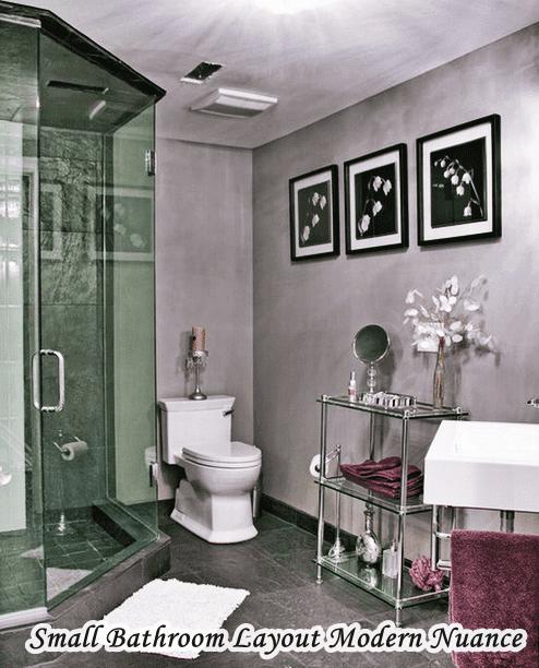 5x5 Bathroom Layout Modern Nuance