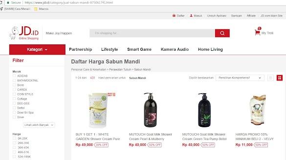 Jual Sabun Online Terlengkap Tersedia Banyak Pilihan Merk di JD.ID