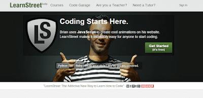 موقع-LearnStreet-لتعليم-البرمجة