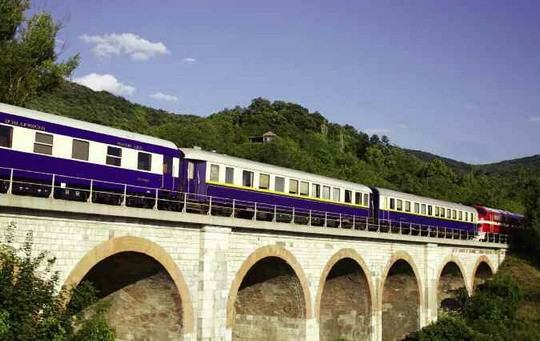 Europe on the Danube Express