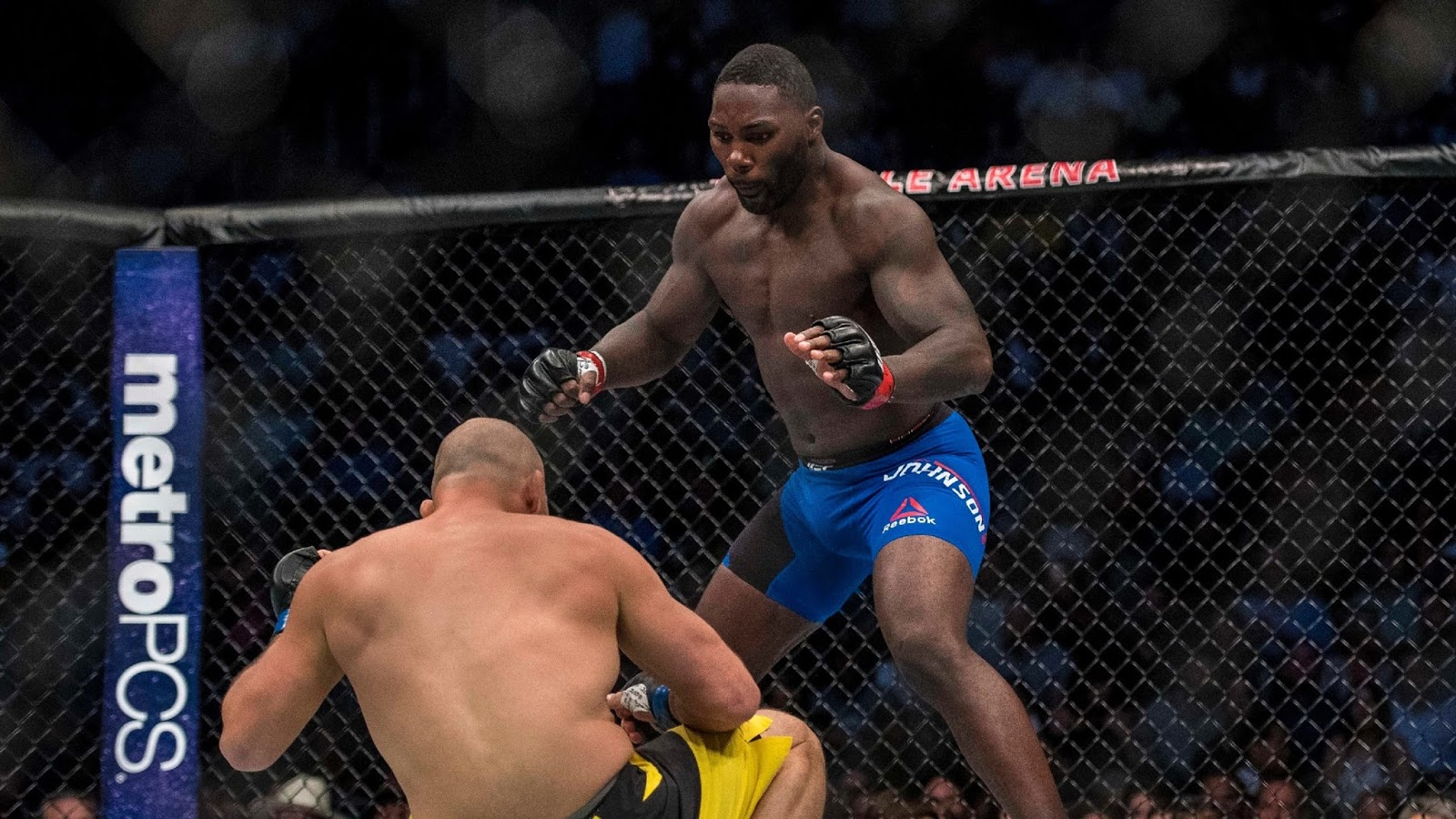 ANTHONY RUMBLE JOHNSON VS. GLOVER TEIXEIRA 3