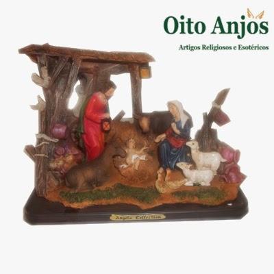 O primeiro Presépio | Oito Anjos Artigos Religiosos e Loja Esotérica