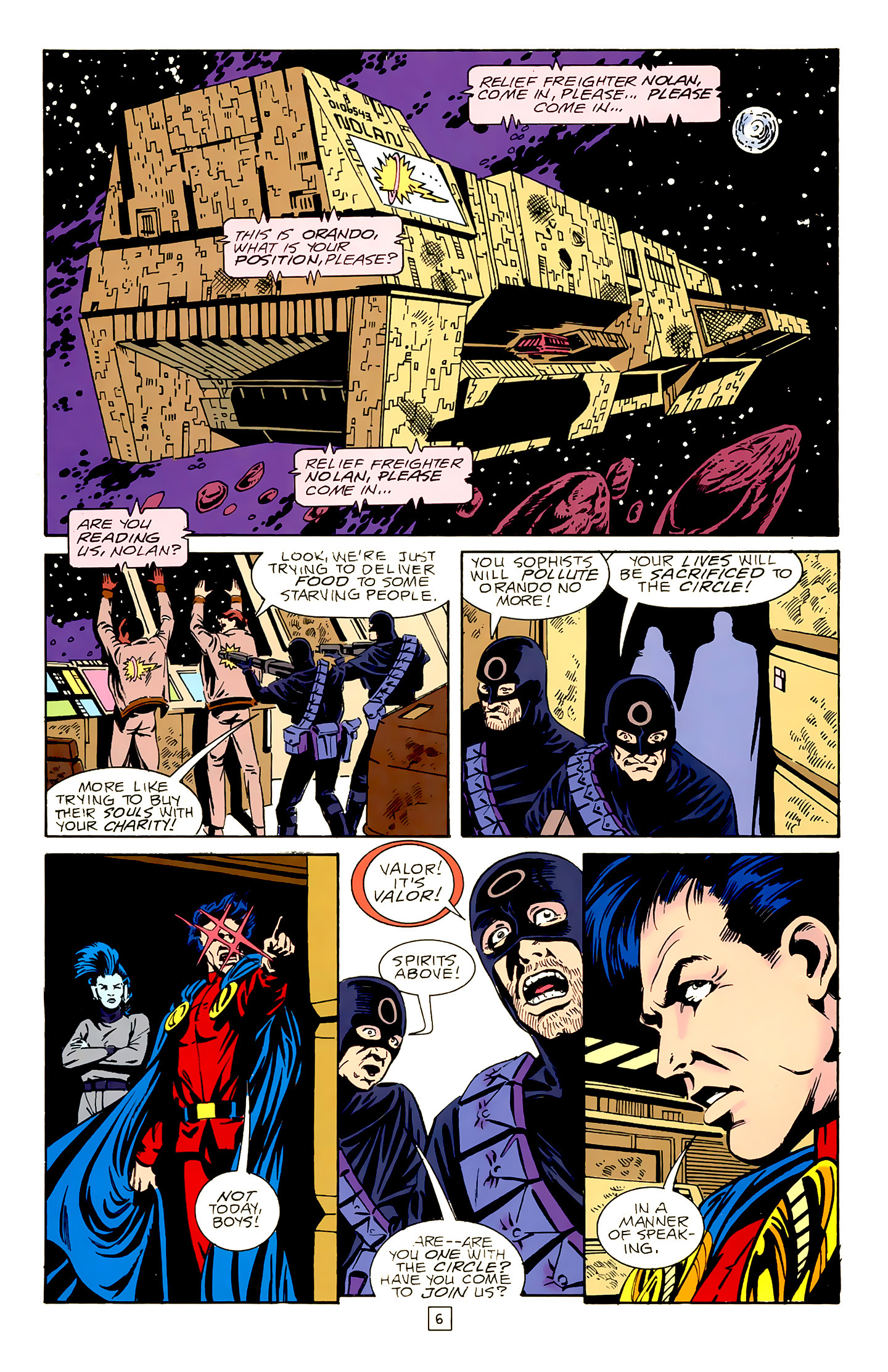 Legion of Super-Heroes (1989) 18 Page 6
