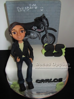 moto men birthday cake