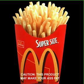 Super Sized Mnc - McDonald's