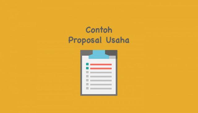 contoh proposal bantuan dana usaha kecil menengah