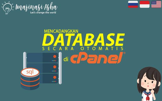 Mencadangkan database mySQL secara otomatis di cPanel