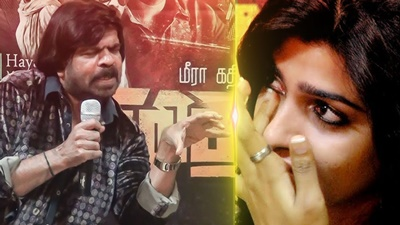 T. Rajendar Fight with Sai Dhanshika | Sai Dhanshika Cries! | Vizhithiru
