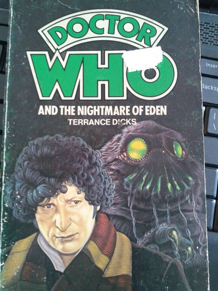 Doctor Who and the Nightmare of Eden  book cover