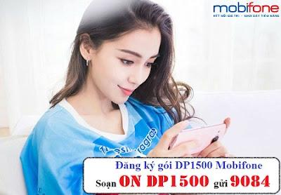 Đăng ký gói DP1500 Mobifone